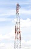 Torre de antena de rádio da telecomunicação Imagem de Stock