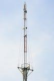 Torre de antena móvil Fotos de archivo libres de regalías
