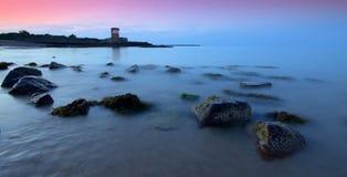 Torre de Archirondel, Jersey C.I Imagens de Stock