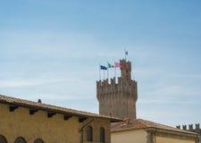 Torre de Arezzo Foto de archivo