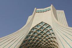 Torre de Azadi em Tehran, Irã Fotos de Stock
