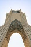 Torre de Azadi en Teherán, Irán Imagen de archivo