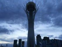 A torre de Baiterek foto de stock