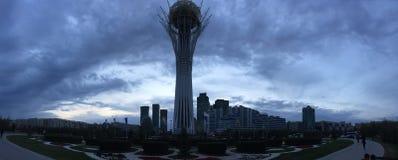 A torre de Baiterek fotos de stock