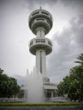 Torre de Banharn Jamsai, Suphanburi, Tailandia Fotos de archivo