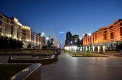 Torre de Bayterek em Astana símbolo de Cazaquistão Foto de Stock