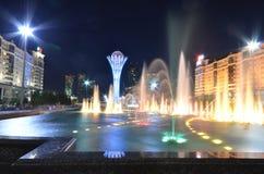 Torre de Bayterek em Astana símbolo de Cazaquistão Fotos de Stock