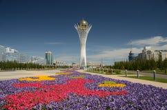Torre de Bayterek en Astana Fotografía de archivo libre de regalías