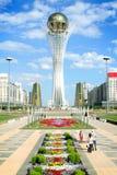 Torre de Bayterek en Astana Imagen de archivo libre de regalías