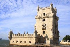 The Torre de Belém Stock Images