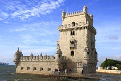 The Torre de Belém Royalty Free Stock Photography