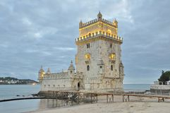 Torre de Belém (Belém tower) of Lisbon Royalty Free Stock Photography