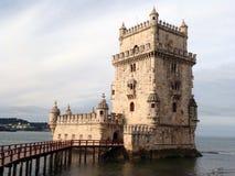 Torre de Belém (la UNESCO) Fotografía de archivo libre de regalías