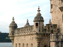 Torre de Belém (la UNESCO) Fotos de archivo