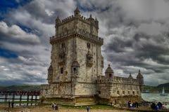 Torre de Belém o la torre de St Vincent Foto de archivo