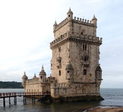 Torre de Belém (UNESCO) Imagem de Stock Royalty Free