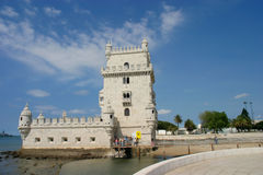 Torre de Belém. Lisbon, Portugal Royalty Free Stock Photos