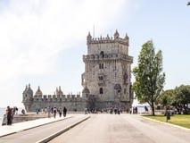 A torre de Belém Fotografia de Stock