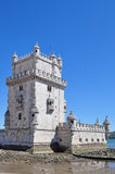 Torre de Belém em Lisboa Fotografia de Stock Royalty Free