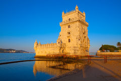 Torre de Belém, Lisboa, Portugal Imagem de Stock