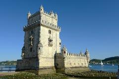 Torre de Belém, Lisboa, Portugal foto de stock royalty free
