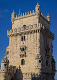 Torre de Belém mantém-se Fotografia de Stock