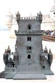 Torre de Belém na cidade de Lisboa Fotografia de Stock Royalty Free