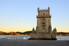 Torre de Belém (Torre de Belém), Lisboa Imagem de Stock Royalty Free