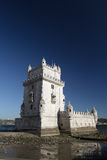 Torre de Belém (torre) de Belem, Lisboa, Portugal Imagen de archivo libre de regalías