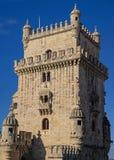 Torre de Belem держит Стоковая Фотография