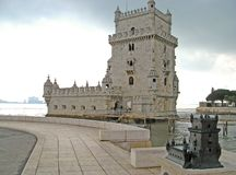 Torre de Belem 03 stock image