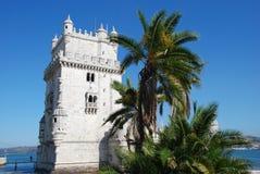 Torre de Belem. In Lissabon, Portugal Stock Photo