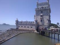 Torre DE Belem royalty-vrije stock foto