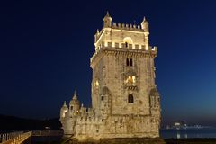 Torre de Belem Stock Photography
