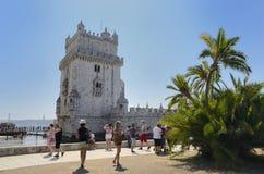 Torre de Belem imágenes de archivo libres de regalías