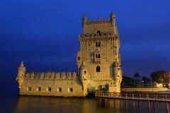 Torre de Belem en Lisboa Foto de archivo libre de regalías