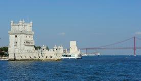 Torre de Belem, Lisboa, Portugal Imagen de archivo