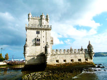 Torre de Belem, Lisboa, Portugal Imagen de archivo libre de regalías