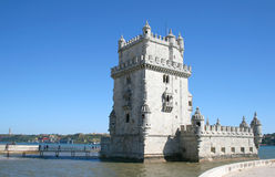 Torre de Belem, Lisbon. Torre de Belem in Lisbon Stock Photo