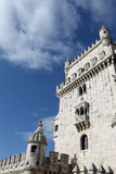 Torre de Belem in Lisbon Stock Image