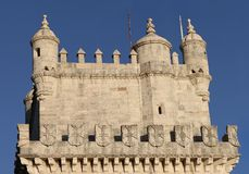 Torre de Belem in Lisbon, Portugal Royalty Free Stock Image