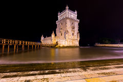 Torre de Belem, Lisbon, Portugal Arkivbild