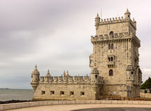 Torre de Belem in Lisbon Royalty Free Stock Images
