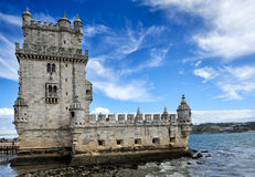 Torre de Belem, Lisbon, Portugal Stock Photos
