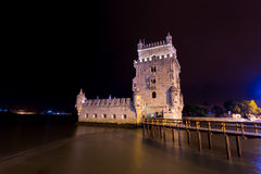 Torre de Belem, Lisbon, Portugalia Zdjęcia Royalty Free