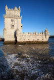 Torre de Belem in Lisbon Royalty Free Stock Photos