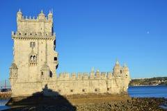 Torre de Belem in Lisbon Royalty Free Stock Photo