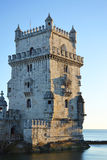 Torre de Belem in Lisbon Stock Photography