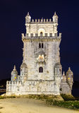 Torre de Belem, Lissabon Royaltyfri Foto