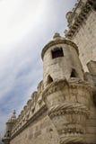 Torre de Belem nel Portogallo. Fotografie Stock Libere da Diritti